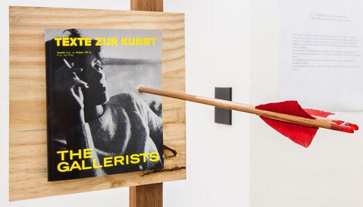 Os galeristas necessitam dos artistas, mas os artistas não necessitam dos galeristas
