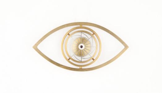 Spiral Eye Brooch