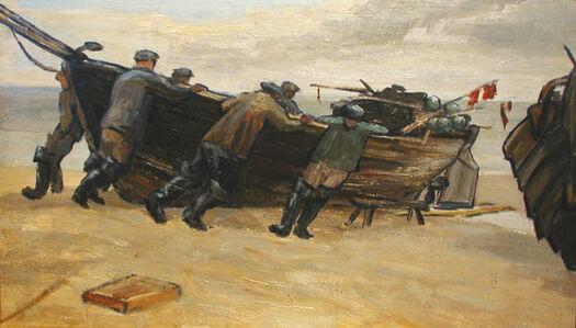 Fishermen into the Sea