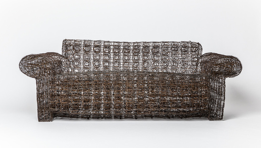 """Untitled"" wire couch"