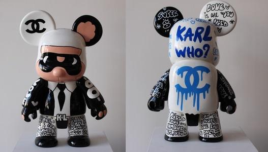 Qe Bear Karl - Who ? Chanel