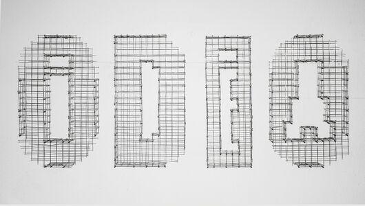 Dispositivo cinetico tipográfico 004 (Odio\Idea)