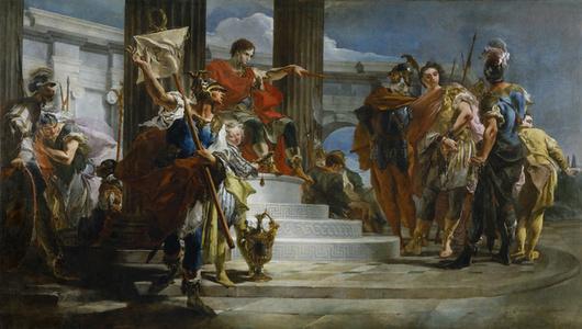 Scipio Africanus Freeing Massiva