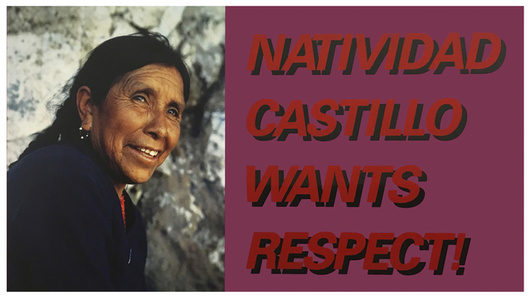 Natividad Castillo Wants Respect