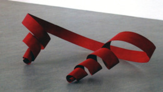 Untitled (Red Ribbon)