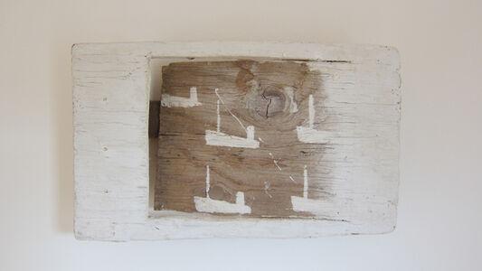 5 White Boats