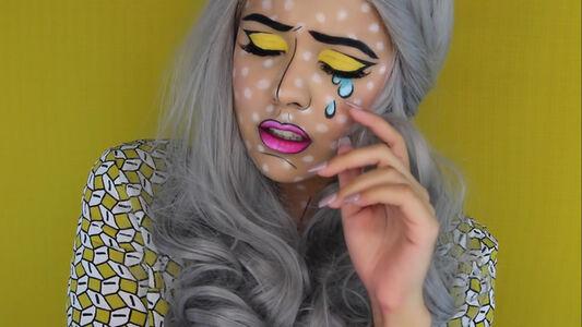 Pop Art Portrait (Beauty with Tashy)