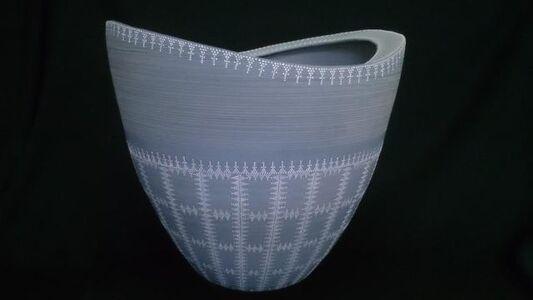 Blue Bizen Vase
