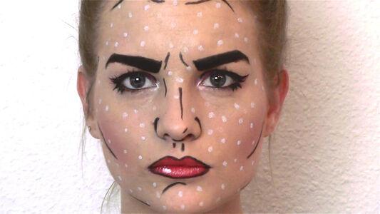 Pop Art Portrait (DIY Karneval)