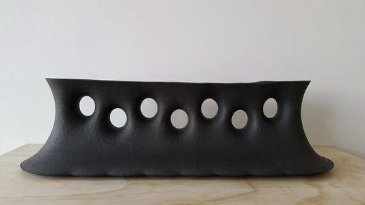 Minimal Surface Vase - Black