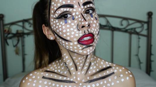 Pop Art Portrait (Jennifer Fix)