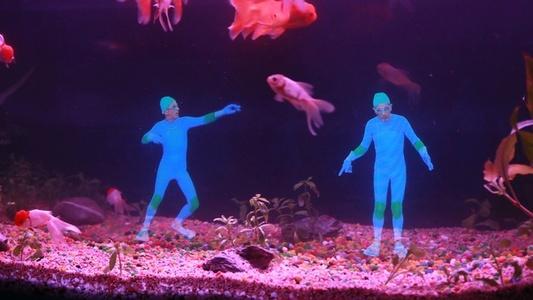 Aquatic choregraphy