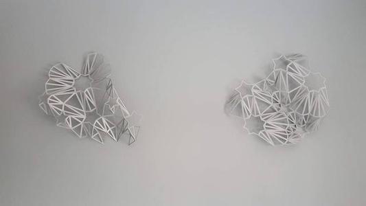 Majaz Wall Sculpture (1,2)
