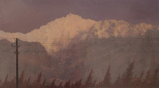 Power lines through Fasham
