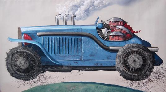山脊赛车; The Earth's Car