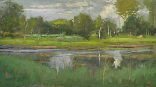Early Autumn Marsh