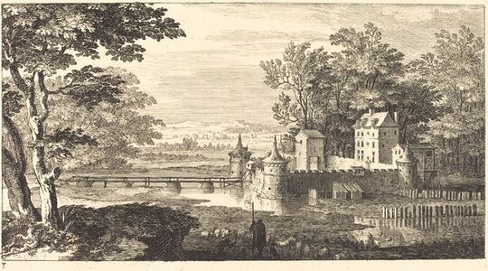 Landscape with Chateau