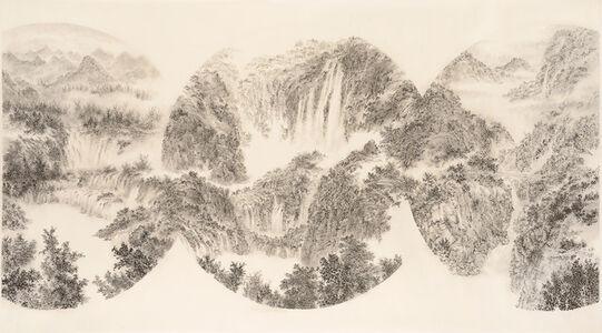 < A Bosom Friend Afar Brings Distance Near >  ( Detian Waterfall-China and Vietnam, Plitvice Lakes National Park-Croatia, Taroko National Park-Taiwan ) <天涯若比鄰> (中越邊境- 德天瀑布,克羅地亞- 十六湖 , 臺灣- 太魯閣)