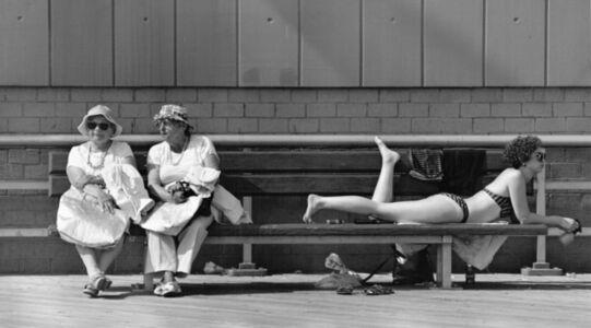 Coney Island Summer Scene
