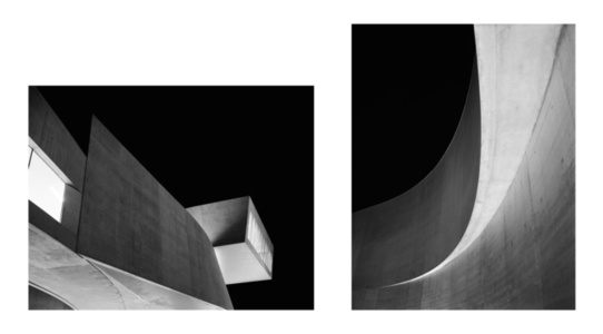'MAXXI' Diptychon (Architecture by Zaha Hadid)