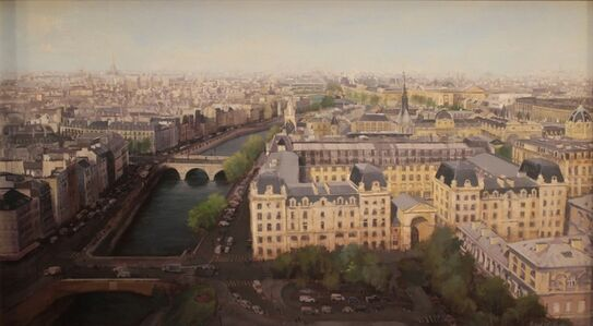 """""""April in Paris (view from Notre Dame Cathedral)"""""""