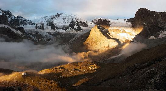 Zmutt Gletscher, Switzerland