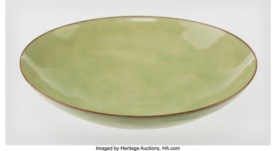 Light Green Green Bowl