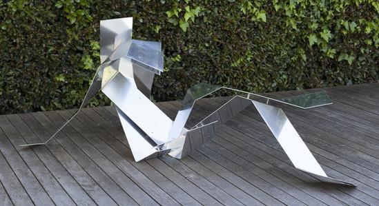 Reclinging (Origami series)