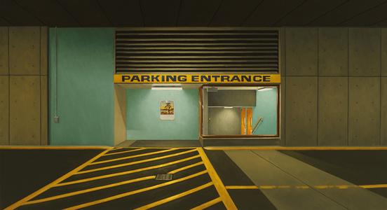 Parking entrance (Westwind)