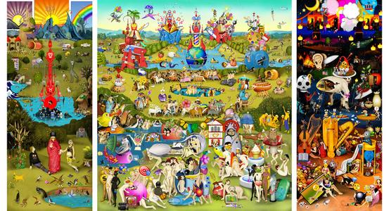 The Garden of Emoji Delights (Animated)