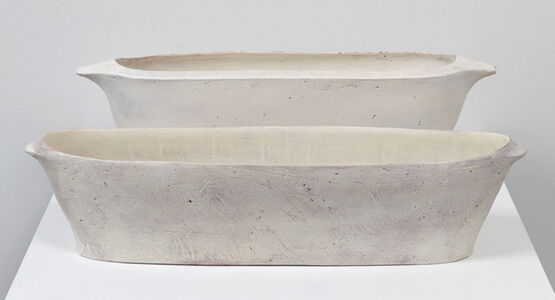 Oval Trough and Oval Trough with Rim