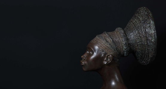 Untitled (Malvina Hoffman Collection), Mangbetu Woman