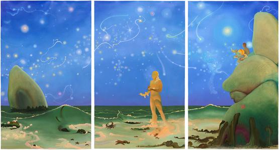 Aquarius (Triptych)