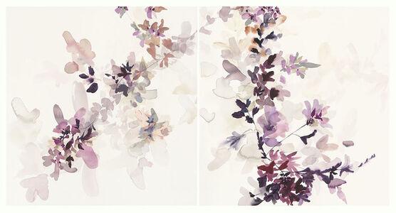 Wildflower Study Lilac and Smoke 1