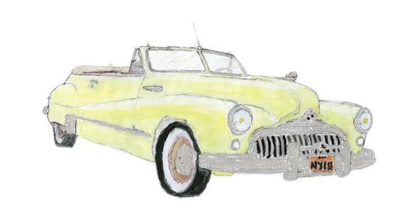 1947 Roadmaster Convertible