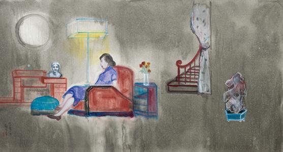 常德公寓内的女人 Woman at Eddington House