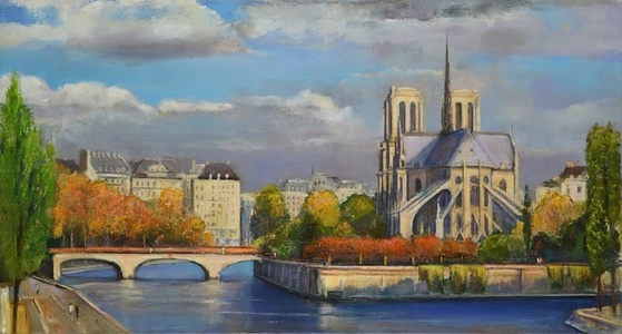 The Seine, Autumn Afternoon