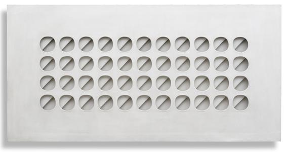 Intersuperficie curva bianca