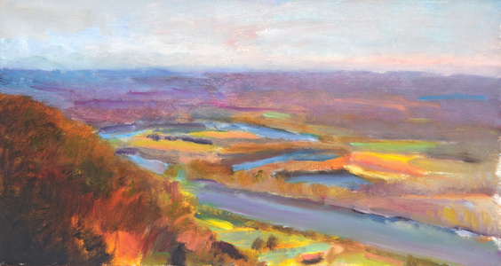 Study for the Oxbow