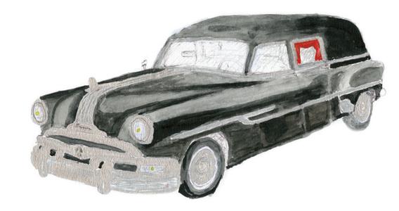1953 Pontiac Hearse