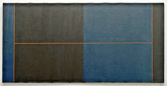 Untitled Geometric Abstraction Painting