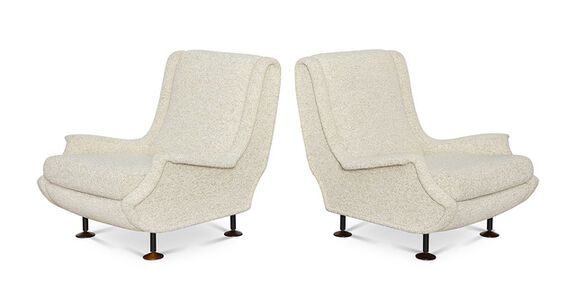"""Pair of """"Regent""""  Club Chairs"""