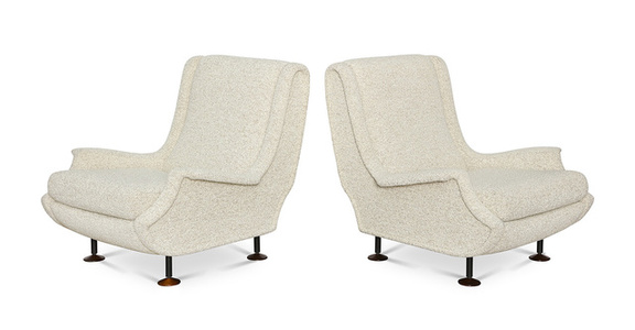 "Pair of ""Regent""  Club Chairs"