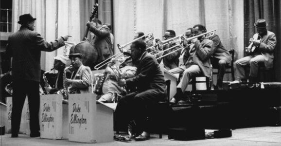 Duke Ellington Rehearsing, London