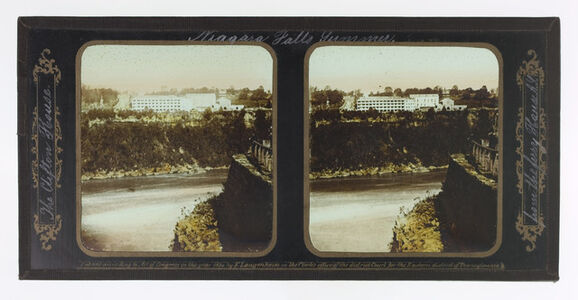 Summer Niagara Falls, The Clifton House from the Ferry House A.Y.