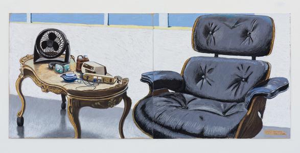 Eames Chair Studio Still Life 7.5.17