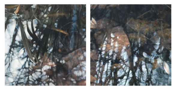 The Space Between (Diptych)