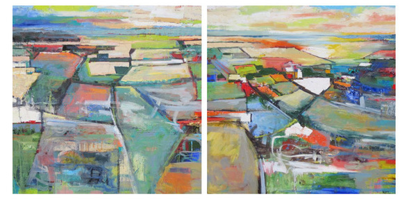 Vicinity Diptych