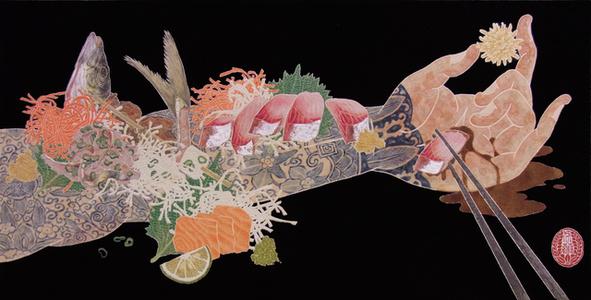 Nourish V (Sashimi On The Arm)