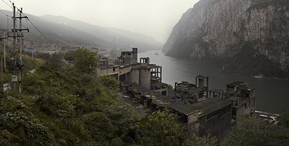 Abandoned Factory along Wu River